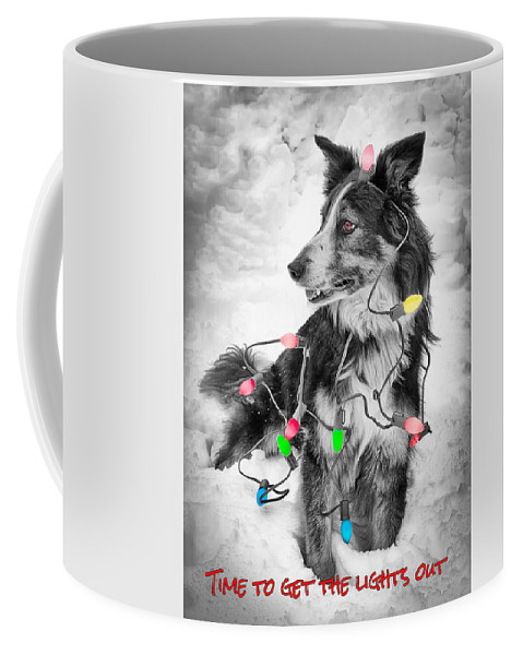 Christmas Coffee Mug featuring the photograph Get The Lights Out by Joye Ardyn Durham
