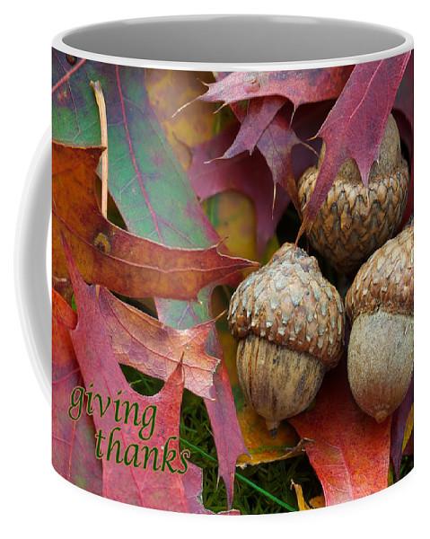 Christmas Coffee Mug featuring the photograph Giving Thanks by Joye Ardyn Durham