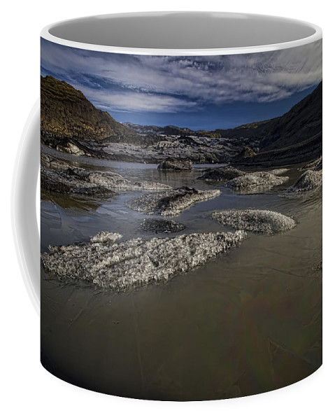 Glacier Coffee Mug featuring the photograph Glacier Ends Here by Sven Brogren