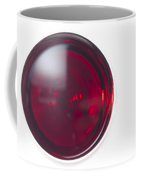 Glass Coffee Mug featuring the photograph Glass With Red Wine by Mats Silvan