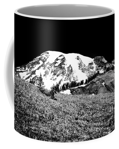 Mount Rainier Coffee Mug featuring the photograph Glorious Mount Rainier by David Patterson