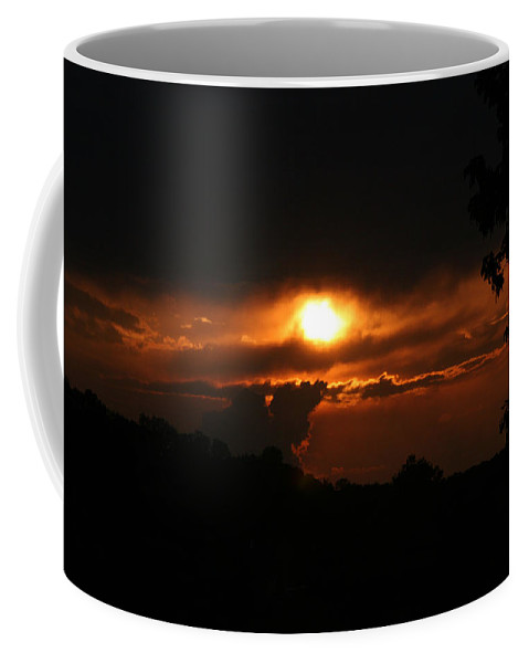 Sun Coffee Mug featuring the photograph Glowing by Jean Macaluso