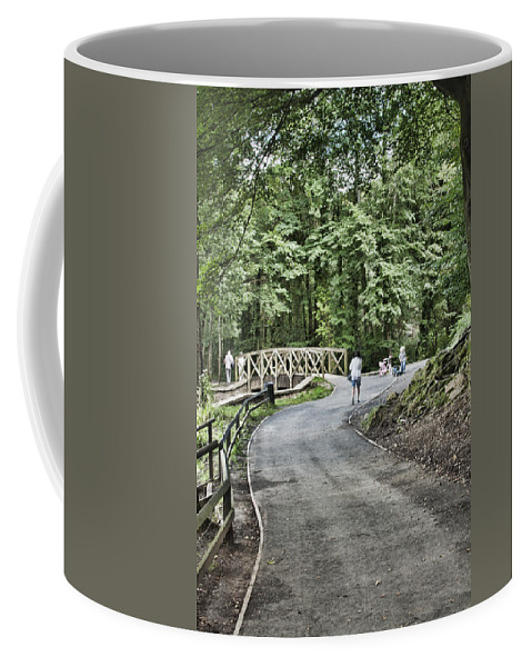 Gnoll Estate Country Park Coffee Mug featuring the photograph Gnoll Country Estate 3 by Steve Purnell