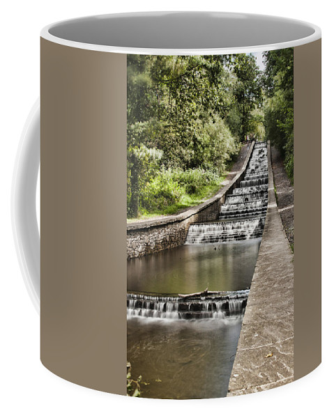 Gnoll Estate Country Park Coffee Mug featuring the photograph Gnoll Country Park 4 by Steve Purnell