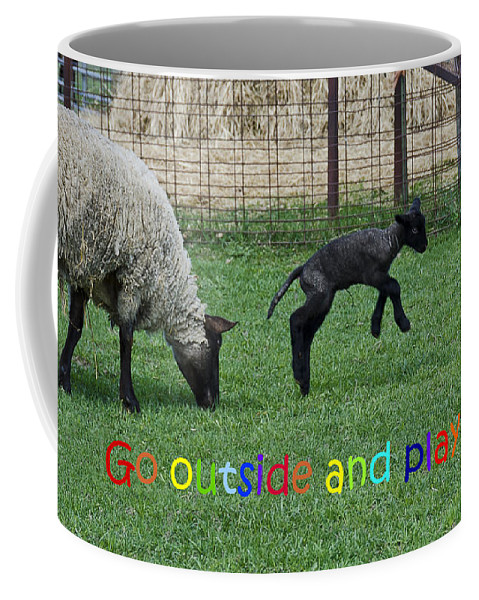 Usa Coffee Mug featuring the photograph Go Outside And Play Rainbow by LeeAnn McLaneGoetz McLaneGoetzStudioLLCcom