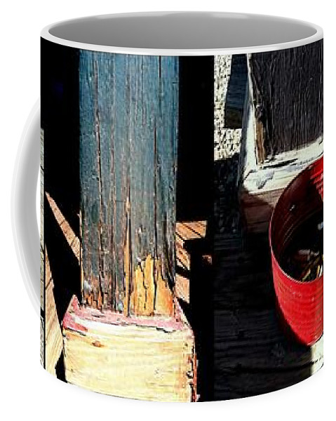 Marlene Burns Coffee Mug featuring the photograph Going Postal In Tombstone by Marlene Burns