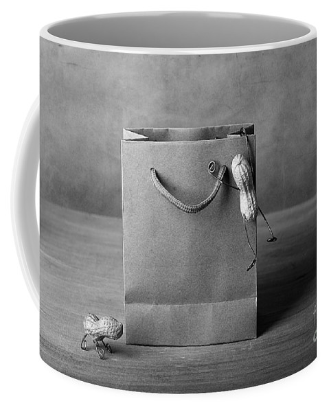Peanut Coffee Mug featuring the photograph Going Shopping 04 by Nailia Schwarz