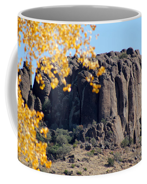 Poster Coffee Mug featuring the photograph Golden Ribs by Alycia Christine