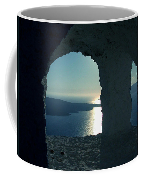 Colette Coffee Mug featuring the photograph Good View Santorini Island by Colette V Hera Guggenheim
