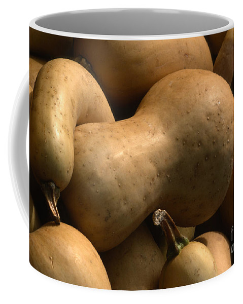 Gourds Coffee Mug featuring the photograph Gourds by Sandra Bronstein