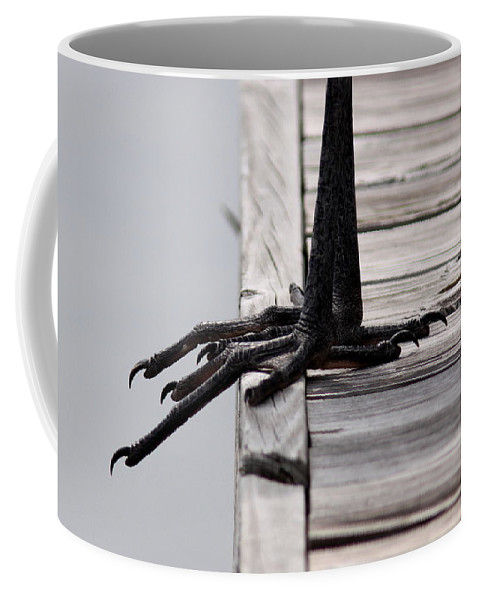 Great Blue Heron Coffee Mug featuring the photograph Great Blue Heron - Foundation by Travis Truelove