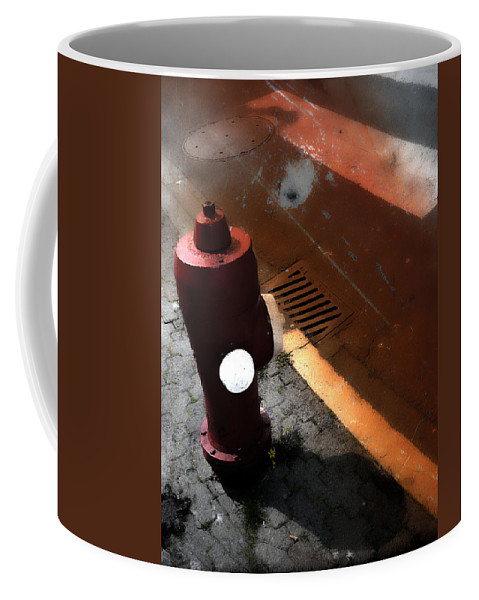 Street Photography Coffee Mug featuring the photograph Greet The Street by The Artist Project