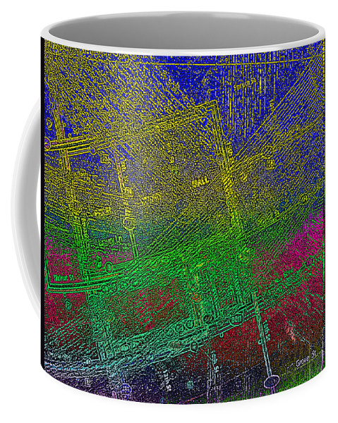 Bus Route Coffee Mug featuring the photograph Grove St. by David Pantuso
