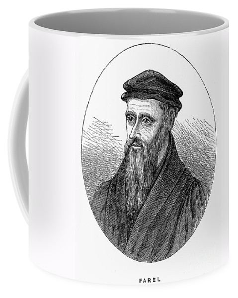 16th Century Coffee Mug featuring the photograph Guillaume Farel (1489-1565) by Granger