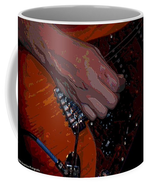 Guitar Coffee Mug featuring the photograph Guitar by Michael Merry