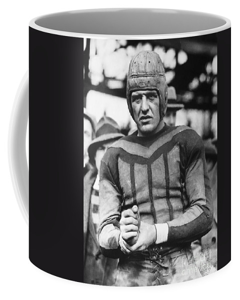 20th Century Coffee Mug featuring the photograph Harold (red) Grange by Granger