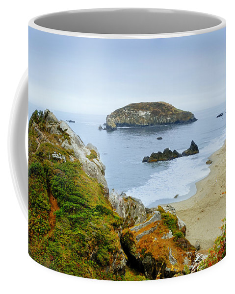 Oregon Coffee Mug featuring the photograph Harris Beach by Betty LaRue