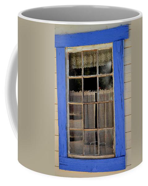 Window Coffee Mug featuring the photograph Haunted Window by Diane montana Jansson