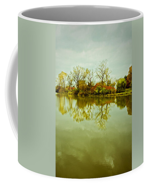 Nature Coffee Mug featuring the photograph Hazy Autumn Afternoon by Valerie Rosen