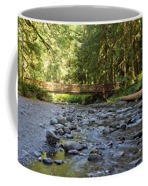 Beautiful Coffee Mug featuring the photograph Hear The Rush Of Water II by Heidi Smith