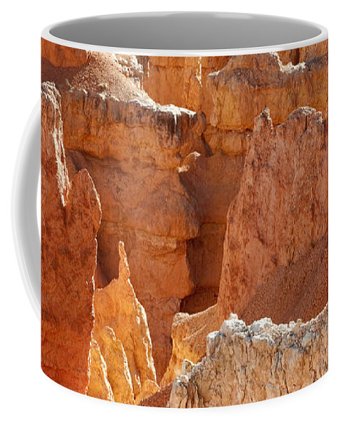 Bronstein Coffee Mug featuring the photograph Heart Of The Hoodoos by Sandra Bronstein