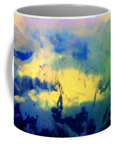 Sky Coffee Mug featuring the photograph Heaven's Colors by Tap On Photo