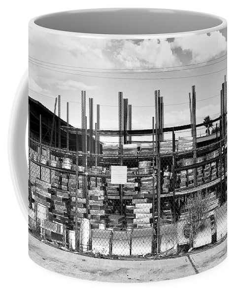 Desert Coffee Mug featuring the photograph Heavy Metal Palm Springs by William Dey