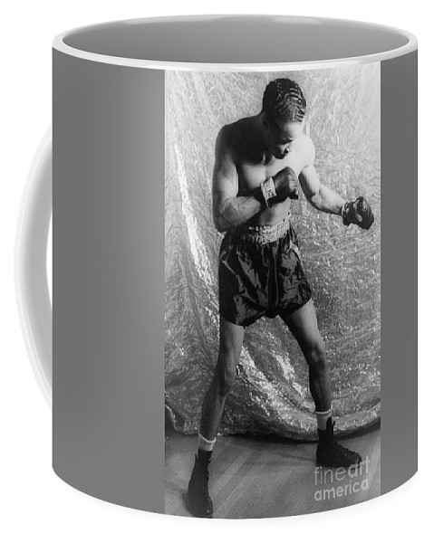 1937 Coffee Mug featuring the photograph Henry Armstrong (1912-1988) by Granger