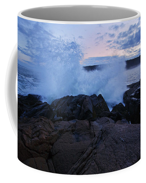 Maine Coffee Mug featuring the photograph High Tide At Dusk by Rick Berk