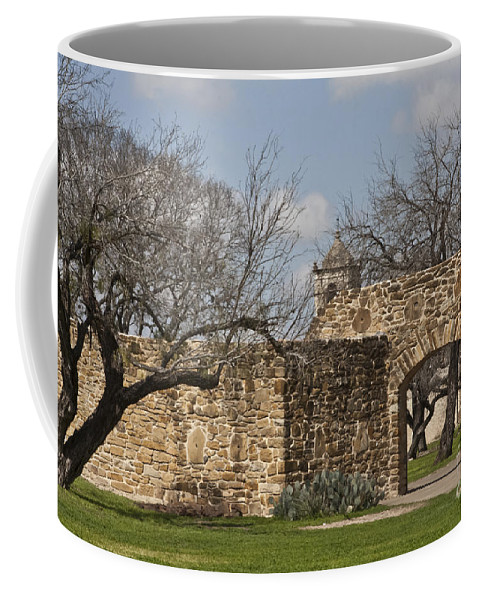 Mission San Jose Coffee Mug featuring the photograph History Awaits by Kim Henderson