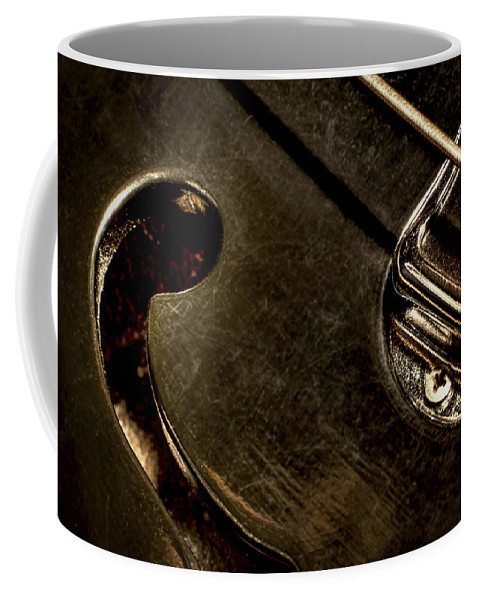 Macro Coffee Mug featuring the photograph Hollow Body by Scott Norris