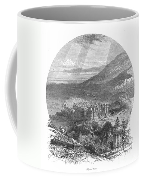 19th Century Coffee Mug featuring the photograph Holyrood Palace by Granger