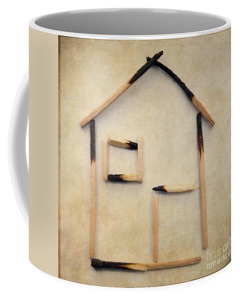 Studio Shot Coffee Mug featuring the photograph Home by Bernard Jaubert