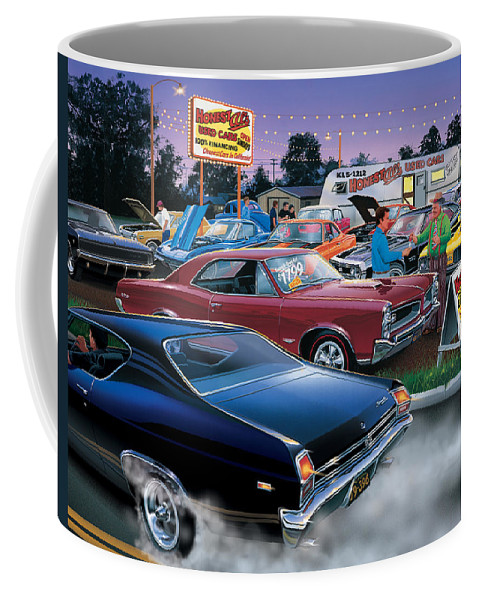 America Coffee Mug featuring the photograph Honest Als Used Cars by Bruce Kaiser
