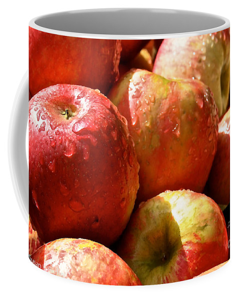 Landscape Coffee Mug featuring the photograph Honey Crisp Collection by Susan Herber
