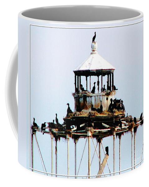 Horseshoe Reef Lighthouse Coffee Mug featuring the photograph Horseshoe Reef Lighthouse by Rose Santuci-Sofranko