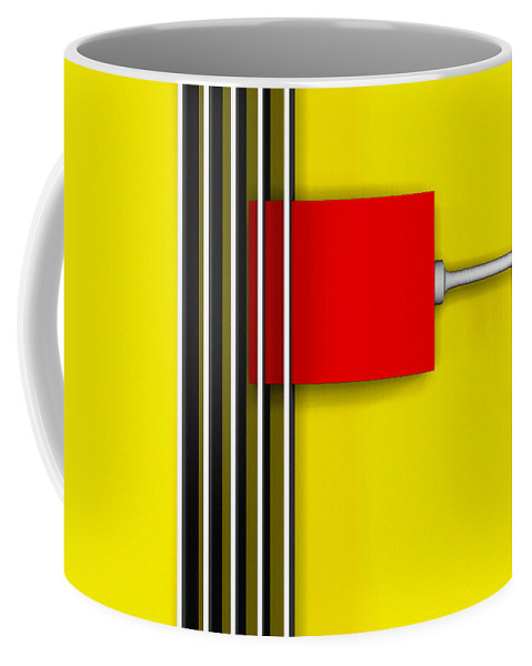 Hot Box Coffee Mug featuring the digital art Hot Box by Richard Rizzo