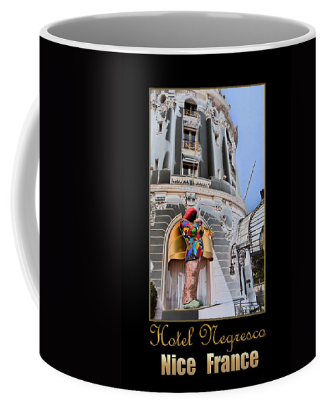 Hotel Coffee Mug featuring the photograph Hotel Negresco France by Andrew Fare