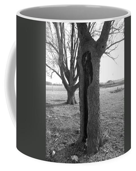 Tree Coffee Mug featuring the photograph Howling Tree by Sheri Lauren
