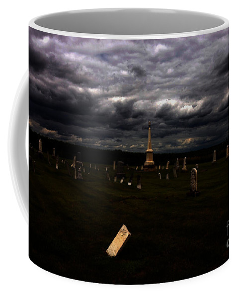 Burial Coffee Mug featuring the photograph Hurt by Alan Look