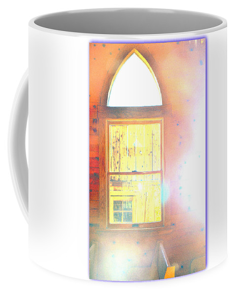 Chappel Coffee Mug featuring the photograph Hymn by Diane montana Jansson