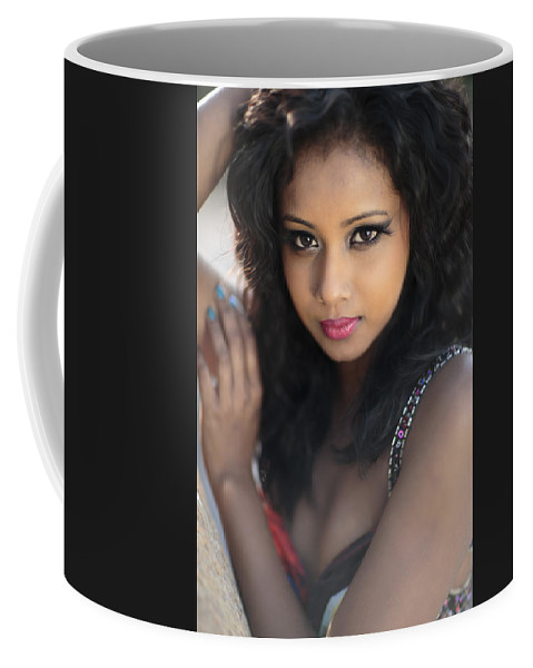 Seductive Photographs Coffee Mug featuring the photograph I Dare You by Rick Berk
