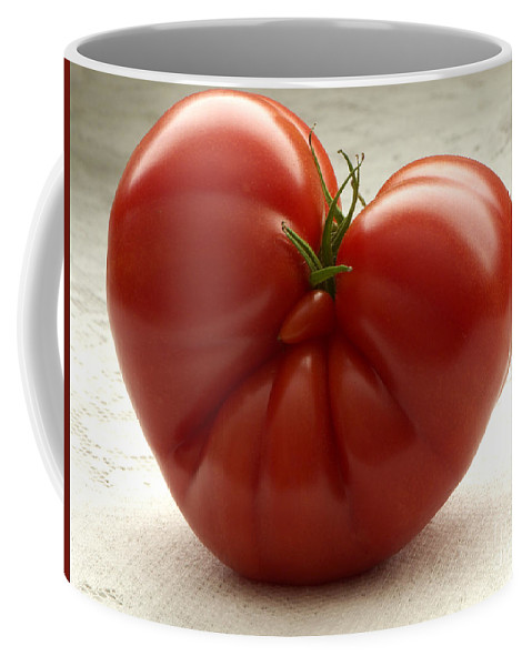 Tomato Coffee Mug featuring the photograph I Love Tomatoes by Sharon Talson