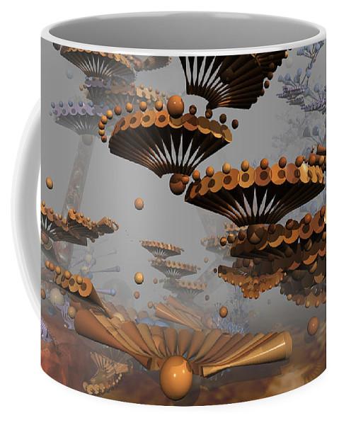 Phil Sadler Coffee Mug featuring the digital art Icarus' New Wings by Phil Sadler