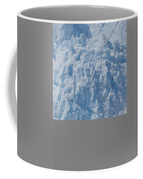 North America Coffee Mug featuring the photograph Icebergs Calving From Chenaga Glacier by Rich Reid