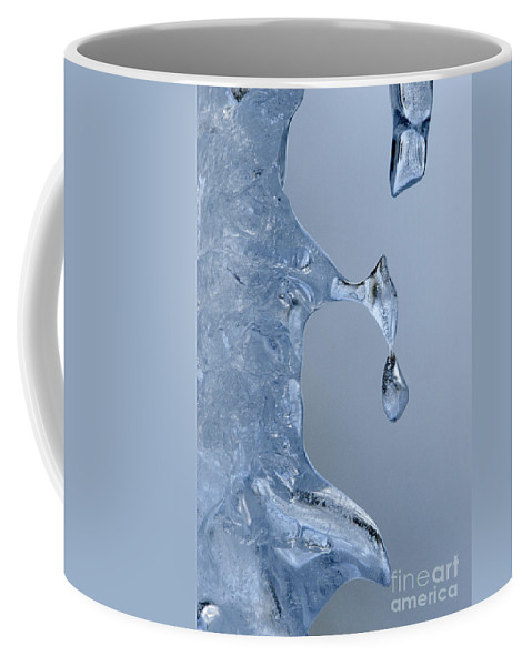 Bronstein Coffee Mug featuring the photograph Icicle Detail by Sandra Bronstein