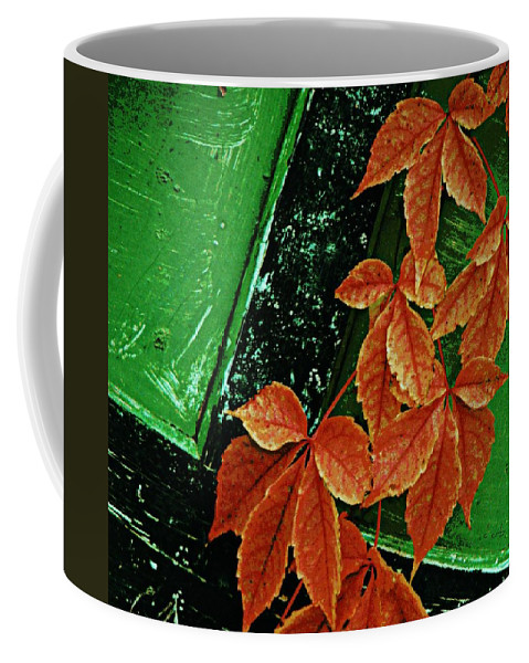 Rustic Coffee Mug featuring the photograph In The Alley by Chris Berry