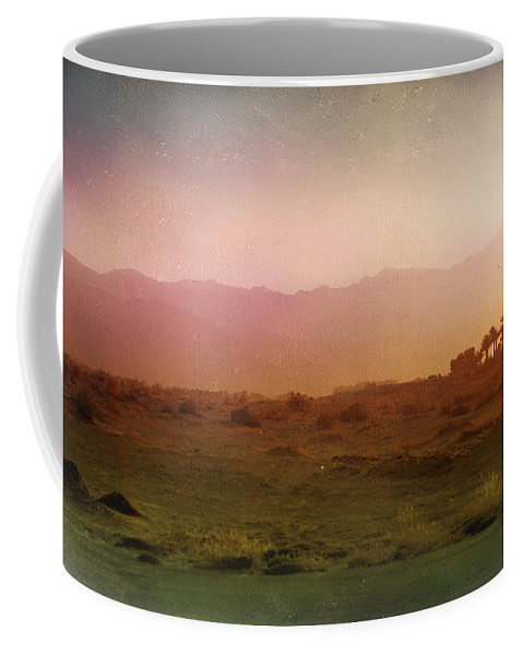 Landscape Coffee Mug featuring the photograph In The End by Laurie Search