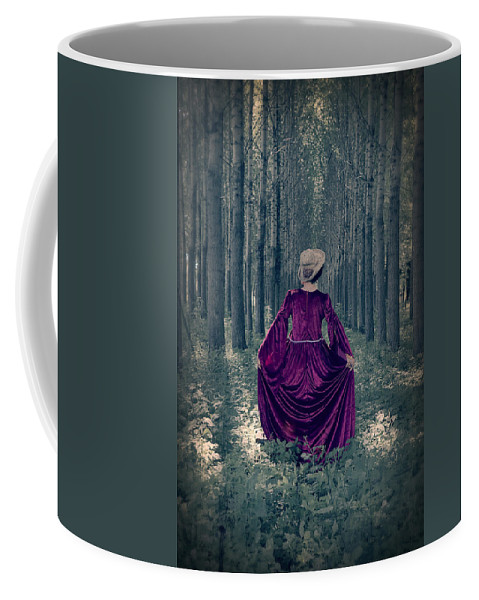 Female Coffee Mug featuring the photograph In The Woods by Joana Kruse