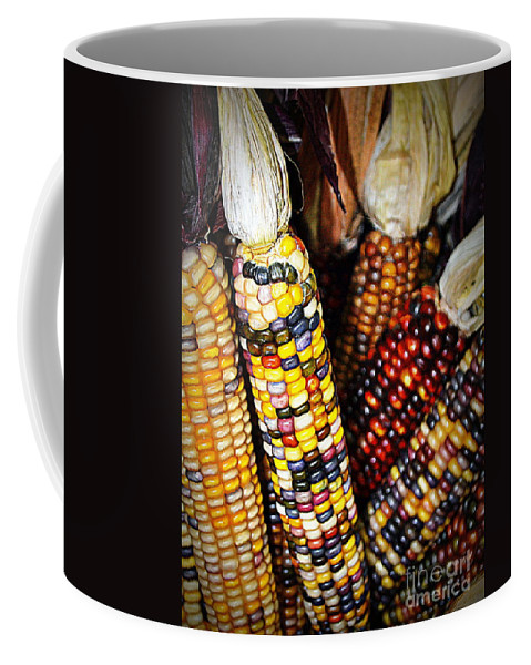 Indian Coffee Mug featuring the photograph Indian Corn 2 by Kevin Fortier